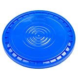Hudson Exchange Reusable Easy Peel Lid for 3.5, 5, 6, and 7 gal Buckets, HPDE, Blue