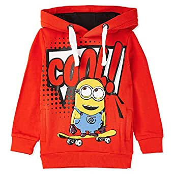 Iconic Hoodies For Boys 11-12 Years, Red