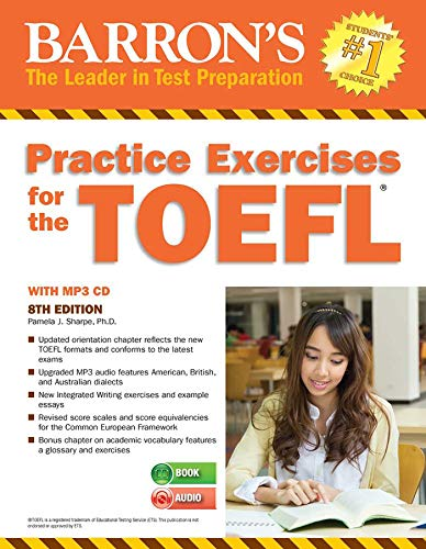 Practice Exercises for the TOEFL with MP3 CD (Barron's Practice Exercises for the TOEFL)