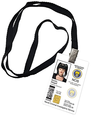 Abigail Sciuto Novelty ID Badge Prop Costume