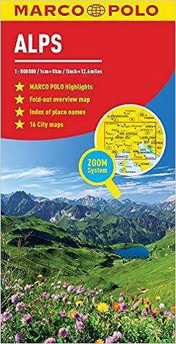 Marco Polo Map Alps (Marco Polo Maps): Amazon.de: Marco Polo ...