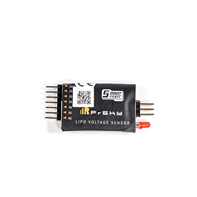 FrSky FLVSS Lipo Voltage Sensor with White Screen Monitor Battery Voltage: Toys & Games