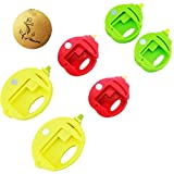 bread bags round - Rimobul Food Storage Fruit Pattern Bag Clips Round Sealer, Set of 6