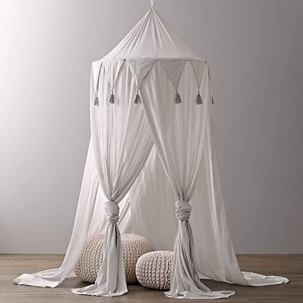 Dofilachy Children's Pennant Lace Tent Princess Room Baby Nets by Dofilachy (Image #2)