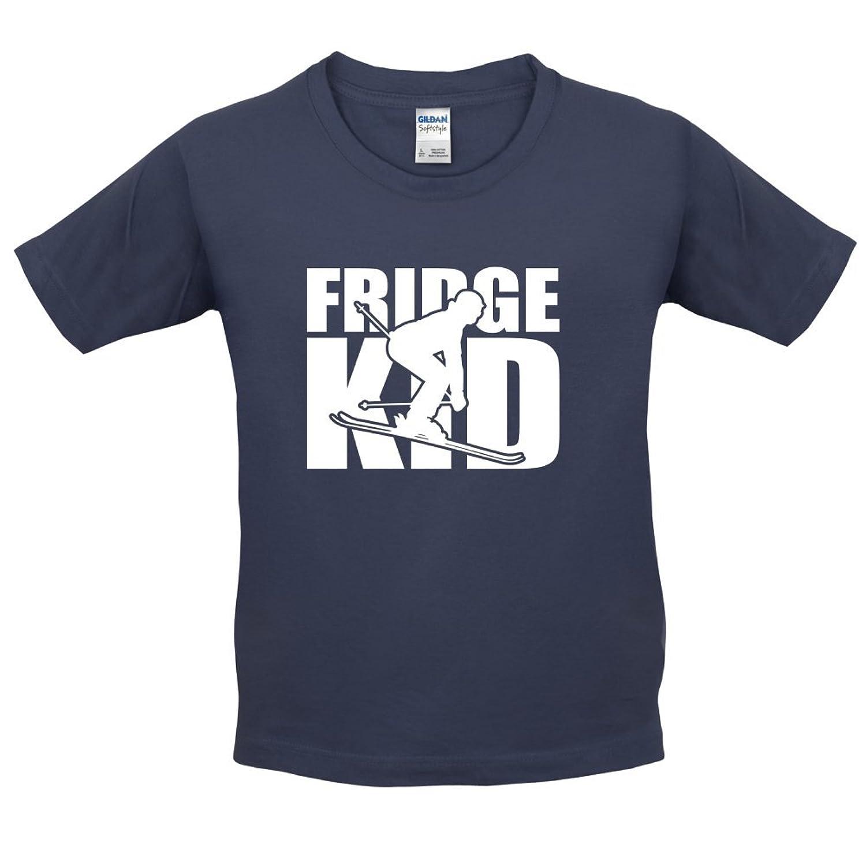 Fridge Kids Ski - Kinder T-Shirt - 10 Farben - 3-14 Jahre