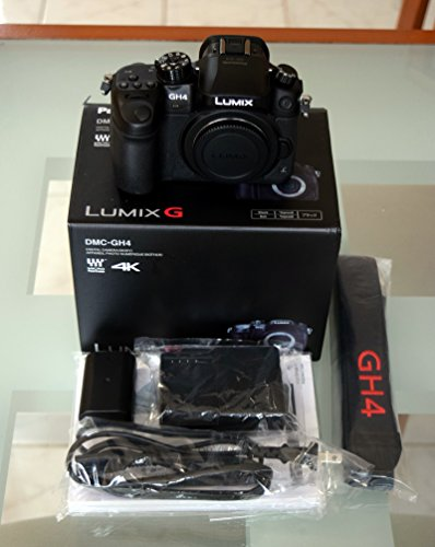 Panasonic GH4 DMC GH4GC K Mirrorless Cinematic product image