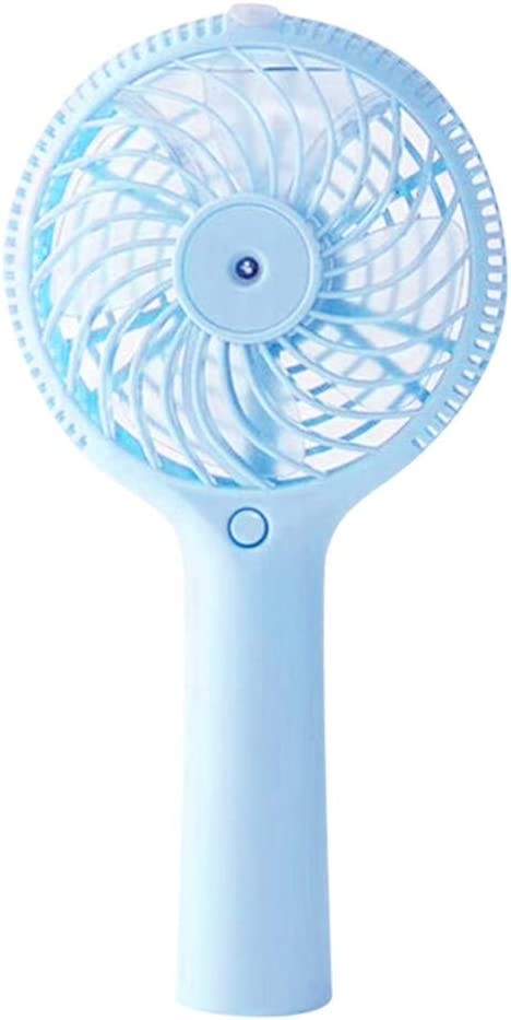 Philoween New Portable Hand held Cooling Cool Water Spray Misting Fan Mist Travel Beach Rechargeable