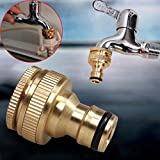 Sedeta brass connectors brass connector nuts Outside Tap Connector Brass Reducer Hose Water Pipe good quality Brass mate