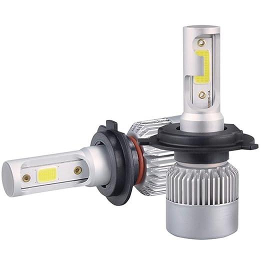 aiyowei H4 - Bombillas LED para faros delanteros de coche, Loutsbe 78 W 6000 K