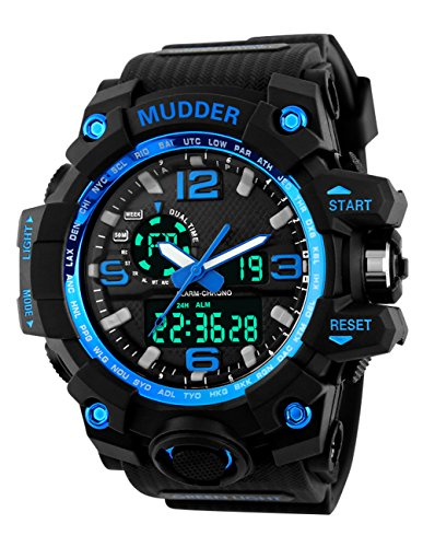 Mudder Analog Digital Outdoor Sport