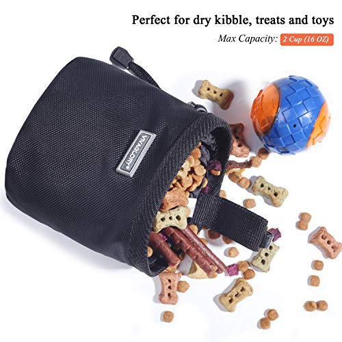 51WtnaaCLeL. SS500  - Dog Treat Bag Hands-Free Puppy Training Pouch