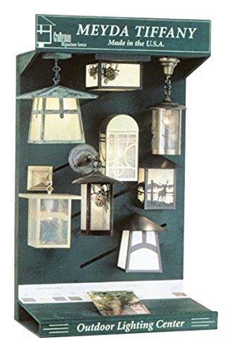 Meyda Tiffany 48222 Craftsman Signature Series Light Display Rack from Meyda