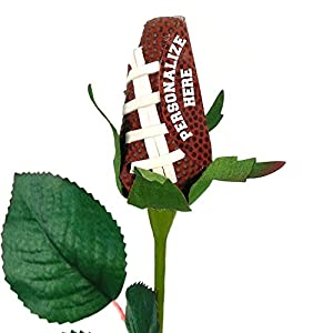 Personalized Football Rose