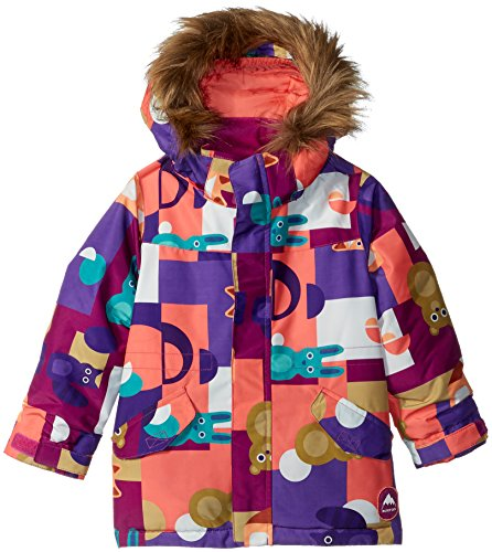 Burton Girls Minishred Aubrey Jacket, Paper Animals, 2T