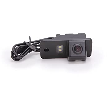 HD Frontkamera Einparkhilfe mit Nachtsicht 170/° Weitwinkel Wasserdicht Farbkamera f/ür Audi A6 A6L (Quattro) 2018 2019