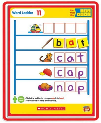 word ladder activity center - 7