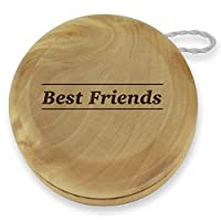Dimension 9 Best Friends Classic Wood Yoyo with Laser Engraving