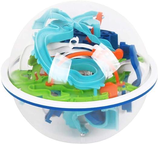 Creative Kids Inteligente Bola 3d Laberinto Bola Juguetes Para Niños Mercurio Temático Primeros Juguetes Educativos Juego Del Laberinto Interactivo En 3d De La Bola Del Laberinto Por La Escuela Hogar,: Amazon.es: Hogar