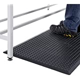 Bubblemat Anti-Fatigue Entrance Standing Non-Slip Safety Mat Indoor - 3 Sizes (Black 0.9 x 1.5m) by BiGDUG