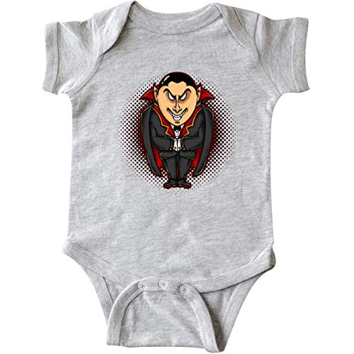 inktastic - Vampire Infant Creeper 12 Months Heather Grey 339b1