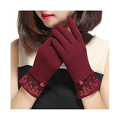 Spiritlele Magic Touch Screen Gloves Warm Telefingers Winter Texting Gloves for Women