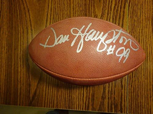Signed Dan Hampton Football - Autographed Footballs