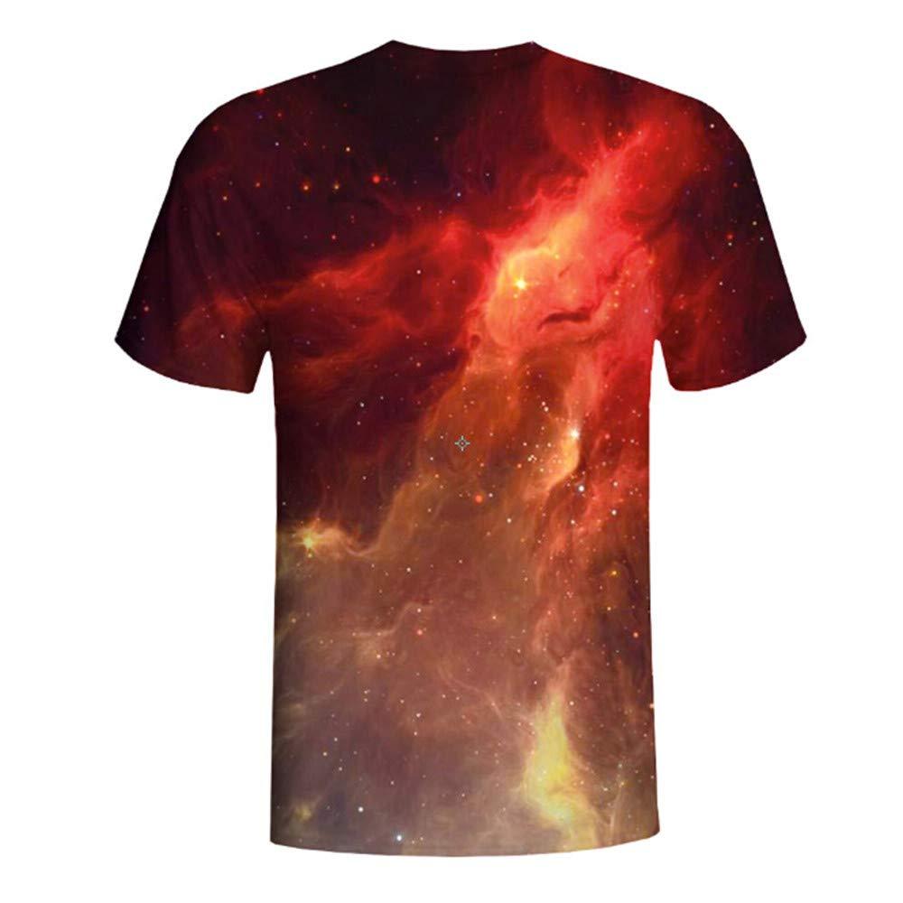 Hombre camiseta casual T-shirt manga corta,Sonnena ❤ Camisa de impresión 3D de moda para hombre Camiseta manga corta Blusa Tops: Amazon.es: Hogar