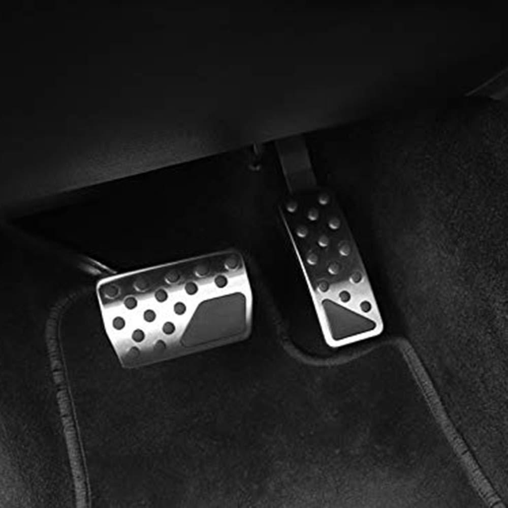 Carrfan Couvre p/édale de frein /à essence Fit pour Jeep Grand Cherokee Dodge Durango 2007-2017