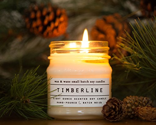 Timberline 8 Oz Soy Candle Evergreen Soy Candle