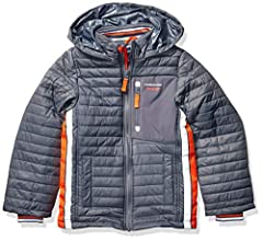 This active puffer jacket winter coat from London Fog is the perfect jacket for chilly days and nights. Great quality, great price, great style.