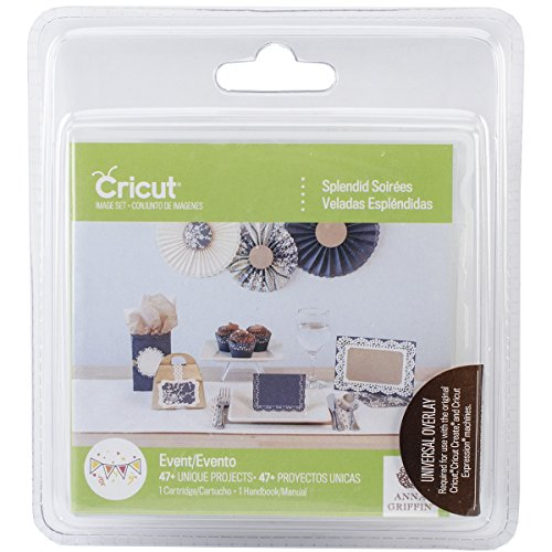 Cricut Splendid Soirees Cartridge for Artwork ()