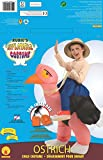 Big Boys Inflatable Ostrich Costume, One Size for 5-7 Years