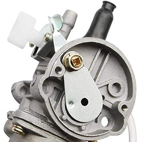 GOOFIT 2 Tempi Collettore Kit Carburatore 13 millimetri Decespugliatore Guarnizioni motore Carb per 47cc 49cc CAG MAT1 MAT2 Pocket Bike Super Bike Mini Quad