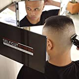 SELF-CUT SYSTEM Travel Version - Three Way Mirror for Self Hair...