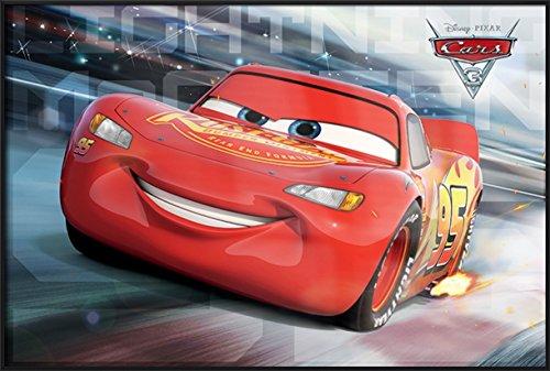 Cars 3 - Framed Pixar / Disney Movie Poster / Print