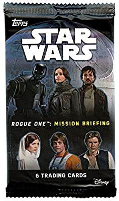 Star Wars Rogue One Mission Briefing Trading Card Pack