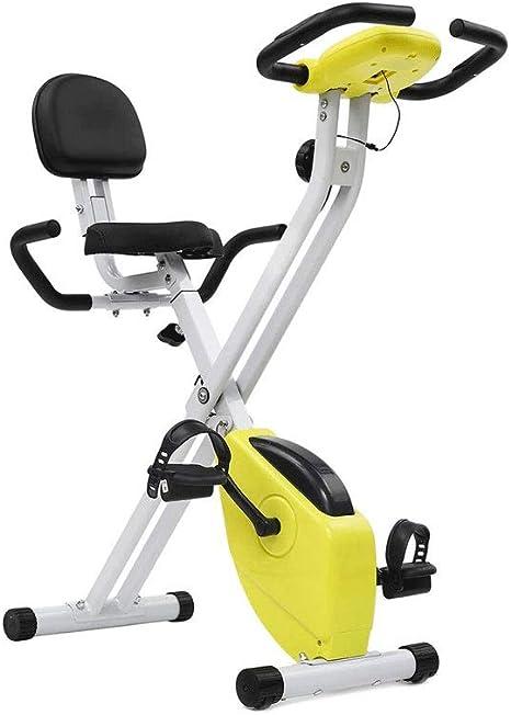 El ejercicio plegable de la bici con la ayuda trasera, ultra ...