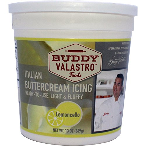 Italian Buttercream Icing Lemoncello by Buddy (Buttercream Icing Butter)