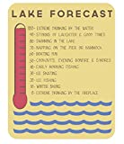 Cheap Lake House Lake Forecast Sign, 11 x 14 -Inch