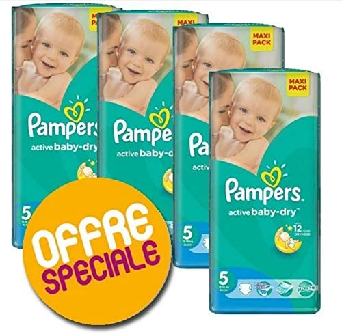 Taille 5 active baby dry Couches Pampers 304 couches b/éb/é