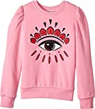 Kenzo Kids Girl's Eye Sweatshirt (Big Kids) Bubble 8A (8 Big Kids)