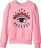 Kenzo Kids Girl's Eye Sweatshirt (Big Kids) Bubble 8A (8 Big Kids)