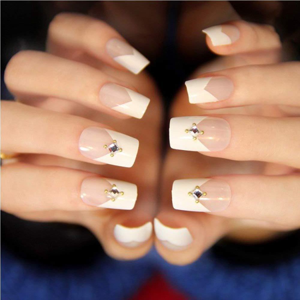 Xelparuca - 500 uñas postizas artificiales de estilo acrílico para mujer, media punta y caja (natural): Amazon.es: Belleza