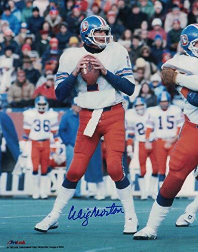 Craig Morton Autographed/Signed Denver Broncos 8x10 ()