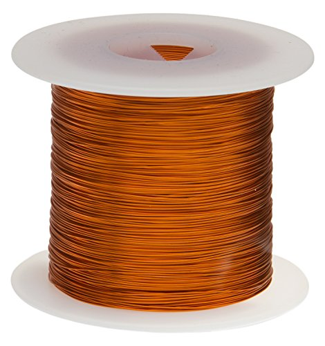Remington Industries 18H200P Magnet Wire, Enameled Copper Wire, 18 AWG, 1.0 lb, 199 Length, 0.0428