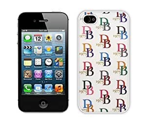 Fashionable iPhone 4 4S Case ,Unique And Lovely Designed Case With Dooney Bourke Db 07 White iPhone 4 4S Cover Phone Case