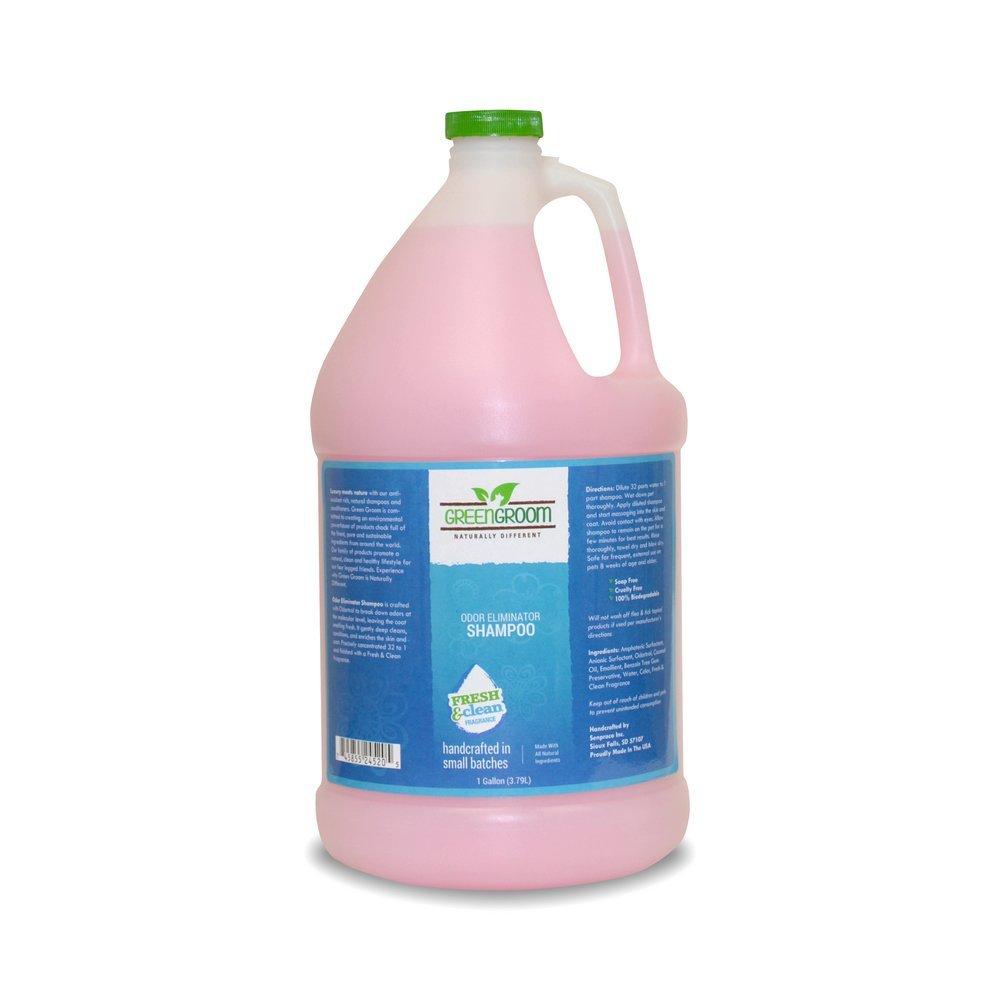 Green Groom Odor Eliminator Dog Shampoo, 1 Gallon