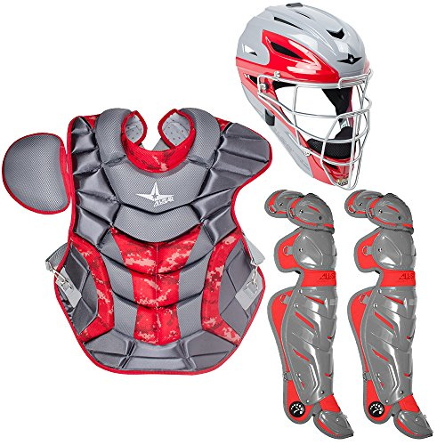 All Star System Seven Youth Camo Pro Catcher's Kit - Ages 12-16 (Catcher Seven System)
