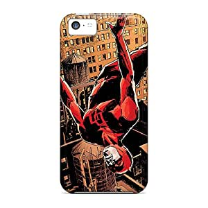 Scratch Protection Hard Cell-phone Cases For Iphone 5c With Custom HD Daredevil I4 Skin JonathanMaedel