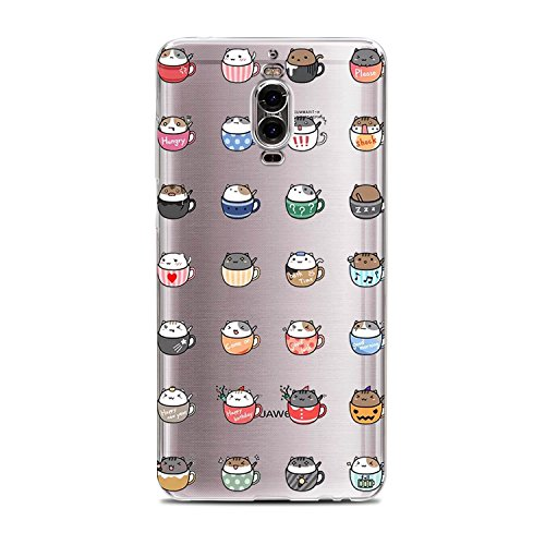 Price comparison product image Huawei Mate 9 Pro Case Vanki Crystal Clear Scratch Proof Transparent TPU Protective Case(Color1)